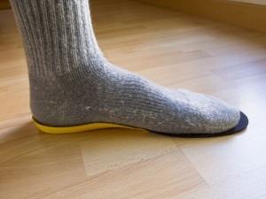 medir el tamaño del pie