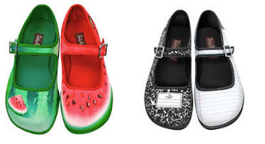 zapatos dispares